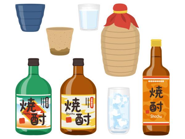 焼酎の瓶のサイズは少ないものから多いものまでどれくらい?焼酎瓶のサイズを解説!