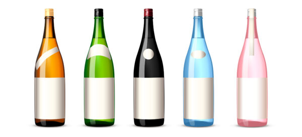 焼酎の瓶の色はなぜ茶色や緑が多いの?焼酎の瓶の色について解説!